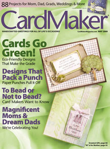 CardMaker May09 Cover