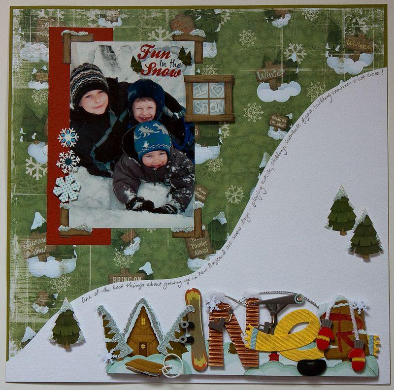 Winter Snow Fun-1