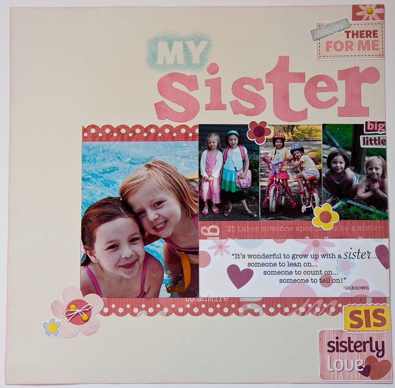 My Sister Layout-1