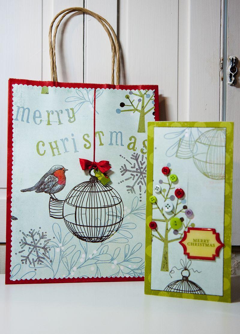 Birdcage Bag & Card-1