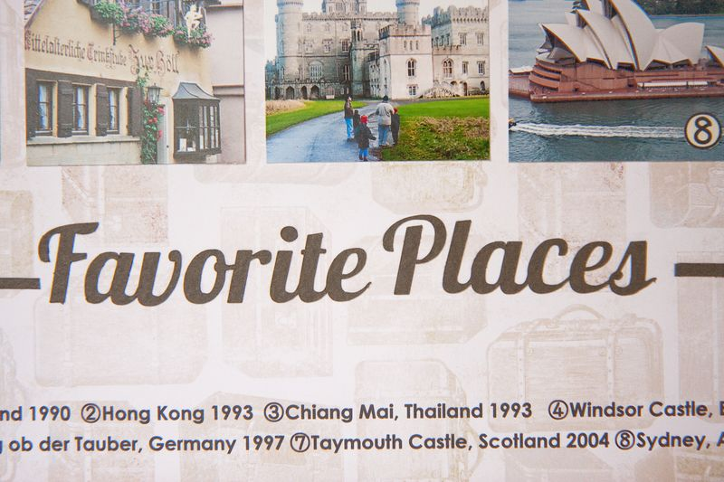 Favorite Places Layout-2