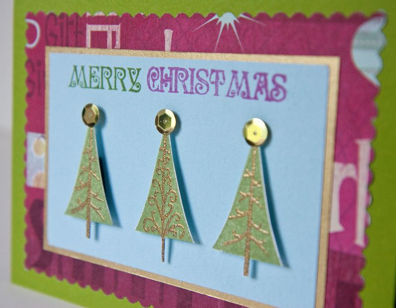 Christmas Trees Card-2