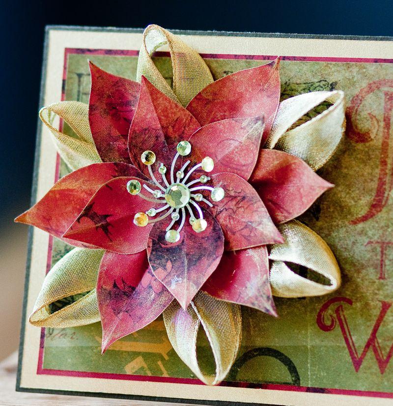 Poinsettia Card-2