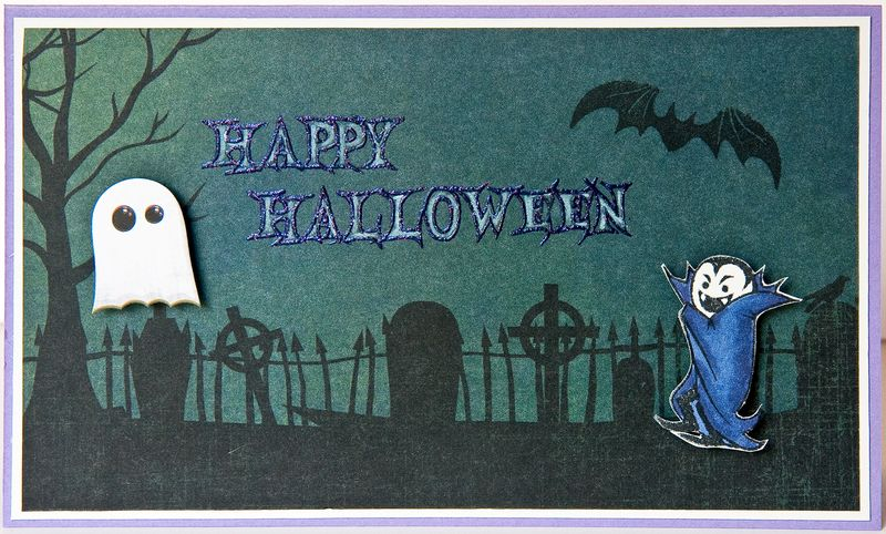 Vampire Stamped Card-4