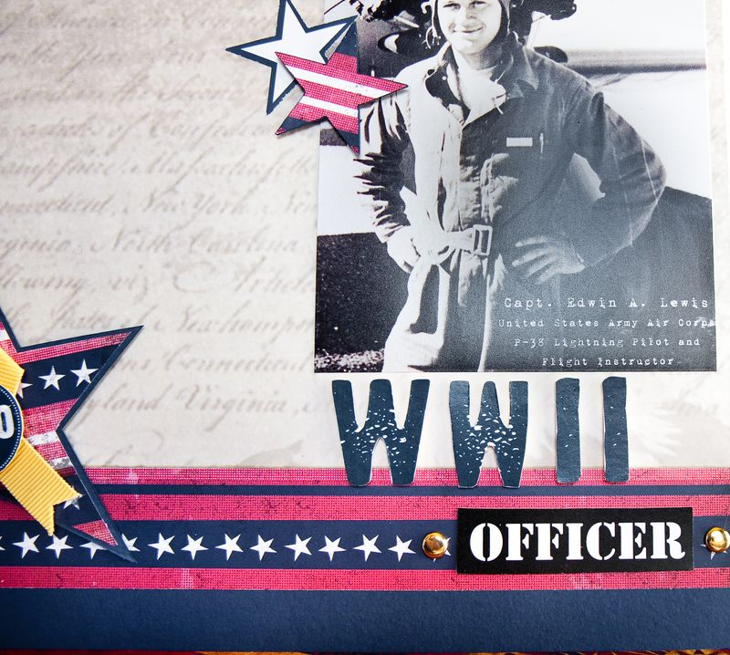 WWII Officer-4