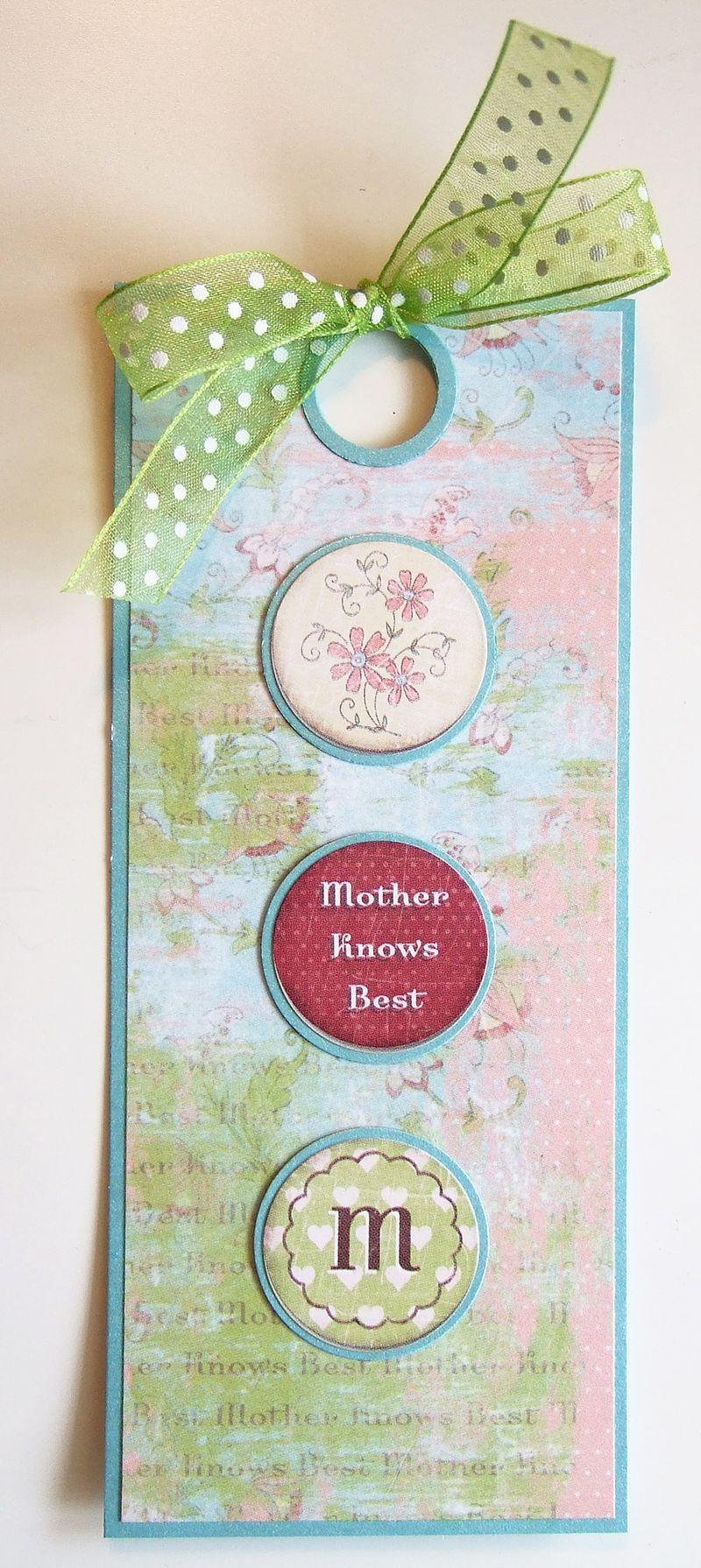 Mom's Bookmark