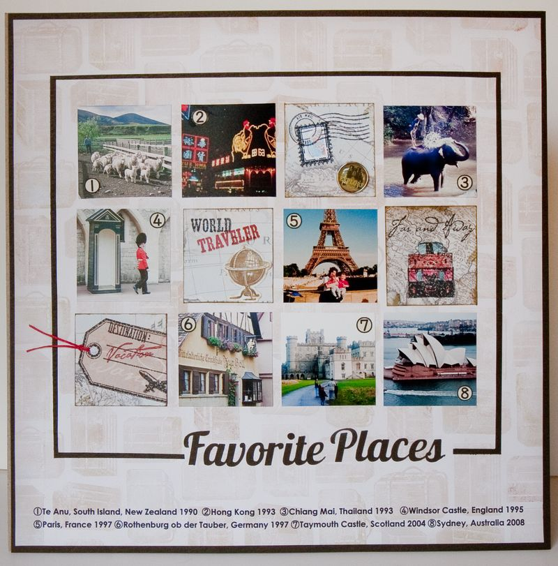Favorite Places Layout-1