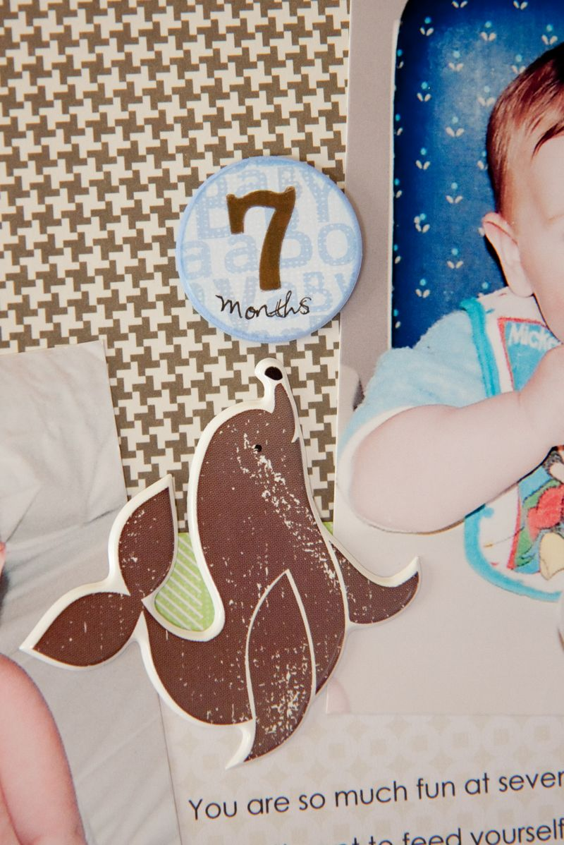 Baby Boy Layout & Bootie-3