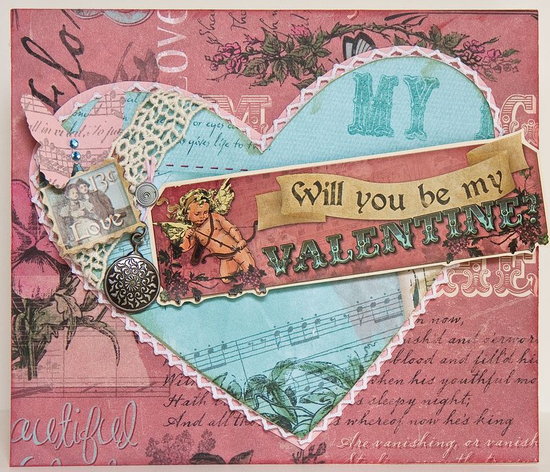 Victorian Valentine Card Golden Moments – Vintage Victorian Valentine Cards