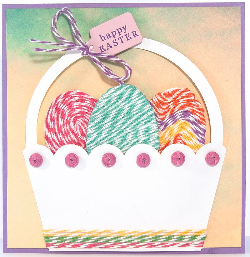 Bakers Twine Easter Basket-1