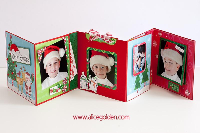 Santa-Mini-Album1