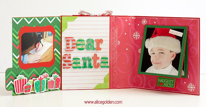 Santa-Mini-Album13