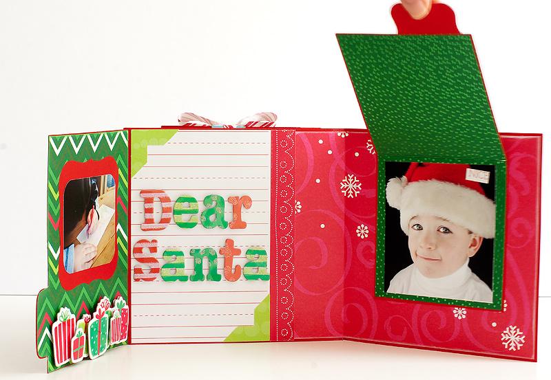 Santa-Mini-Album14