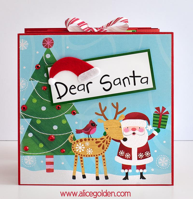 Santa-Mini-Album2