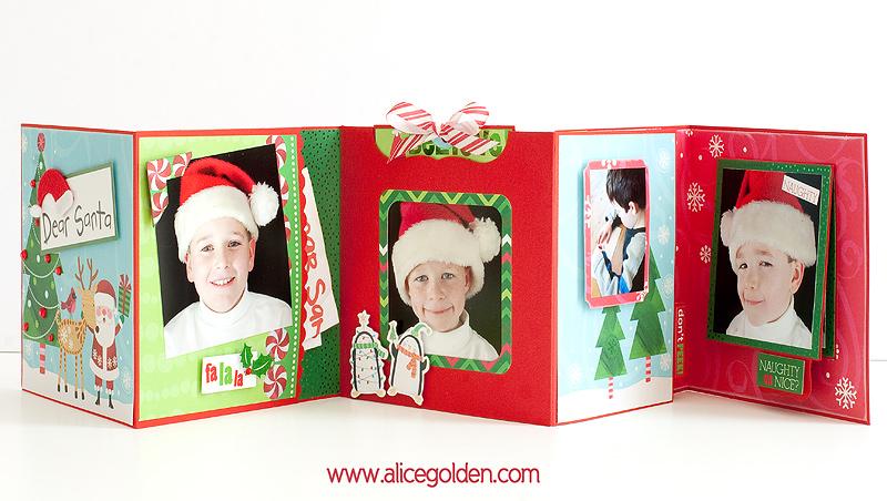 Santa-Mini-Album17