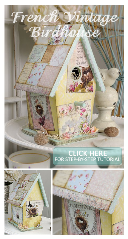 Alice-Golden-French-Vintage-Birdhouse-Crafts-'n-things