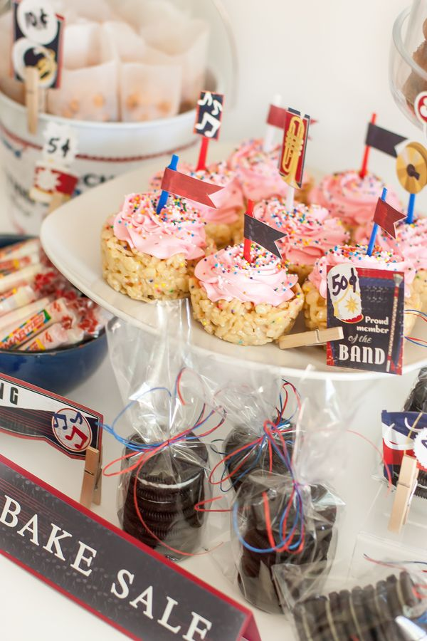 Back To School Bake Sale Golden Moments