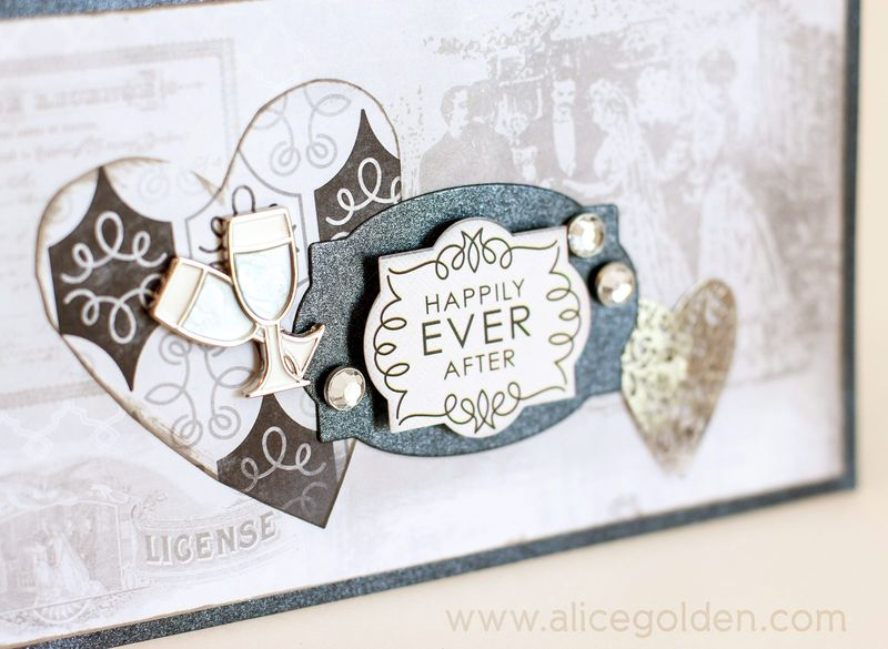 Alice-Golden-Karen-Foster-Design-Wedding-Card-4