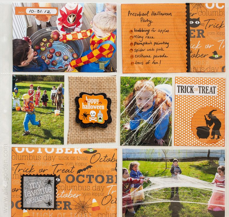Alice-Golden-Mambi-Halloween-Kit-DIY-Pocket-Page-Layout-1