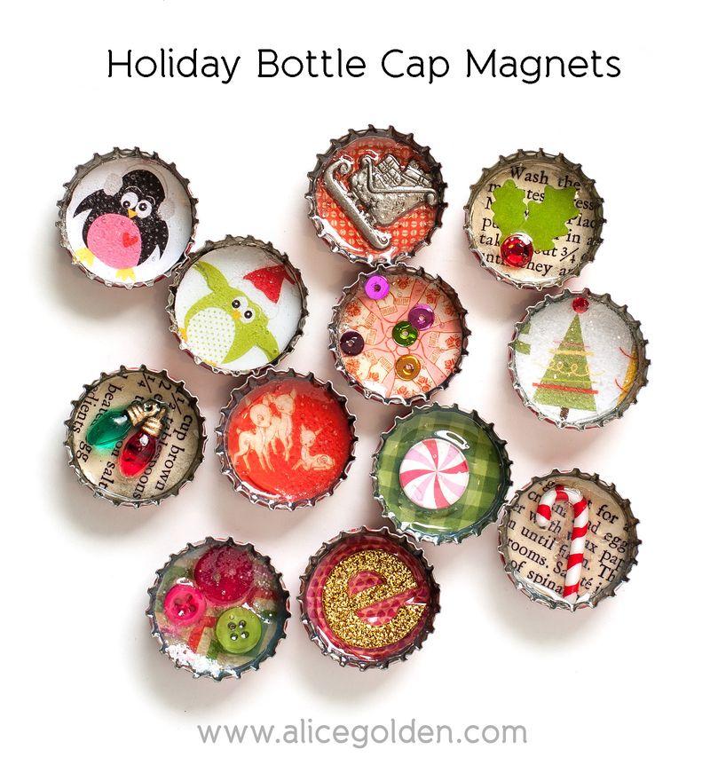 Alice-Golden-CardMaker-Bottlecap-Magnets-1