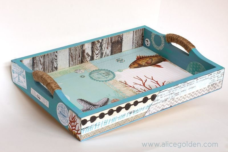 Alice-Golden-Seaside-Tray-Mixed-Media-1