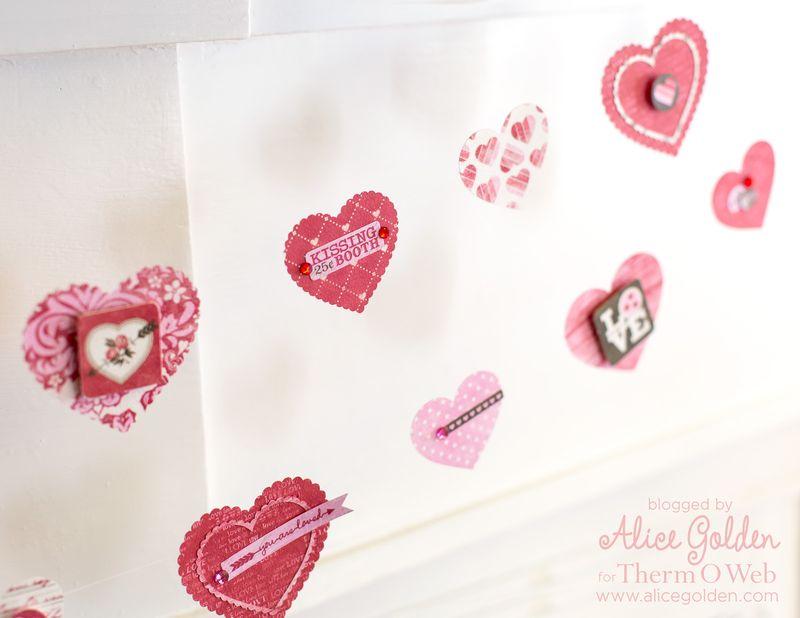 Alice-Golden-Therm-O-Web-iCraft-Valentine-Garland-3