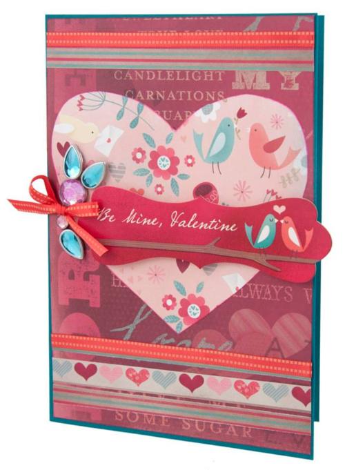 Alice Golden Karen Foster Design Valentine's Day Card 1