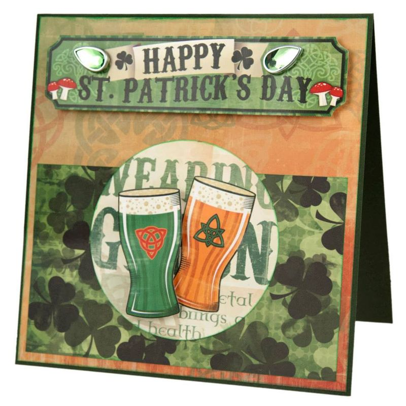 Alice Golden Karen Foster St Patricks Day Card 1