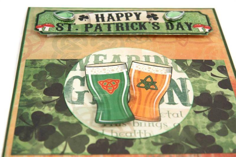 Alice Golden Karen Foster St Patricks Day Card 2