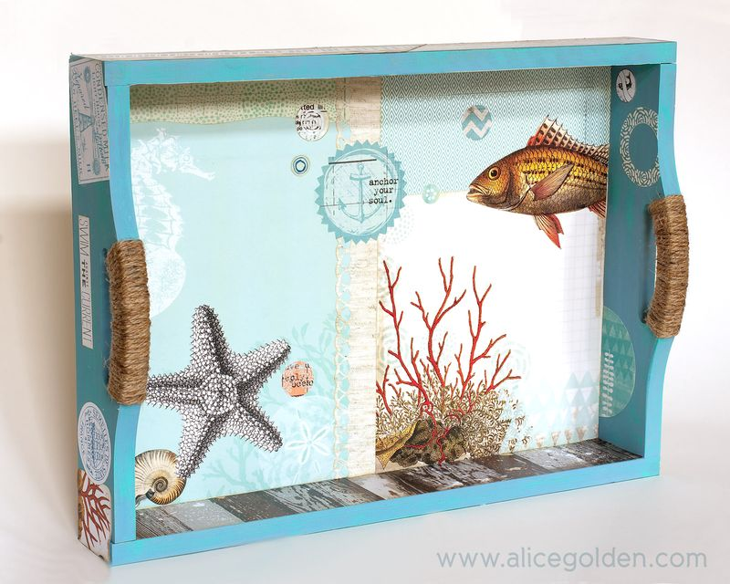 Alice-Golden-Seaside-Tray-Mixed-Media-2