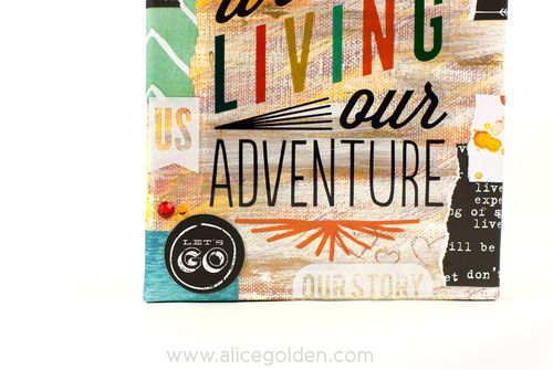 Alice-Golden-mambi-Living-our-Adventure-Mixed-Media-Canvas-2