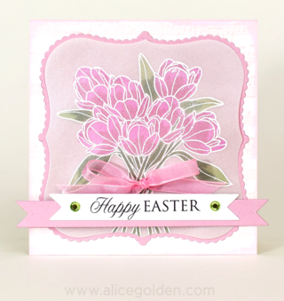 Craft-Ideas-Alice-Golden-Easter-Tulips-card-1