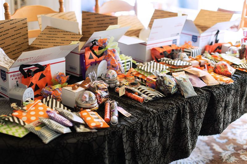 Halloween Treat Care Packages Alice Golden 1