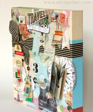 Alice-Golden-Travel-Collage-Mixed-Media-4