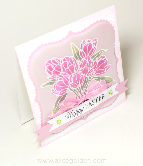 Craft-Ideas-Alice-Golden-Easter-Tulips-card-1-angle