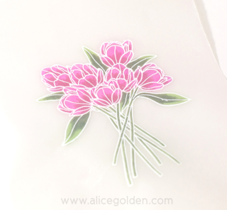 Craft-Ideas-Alice-Golden-Easter-Tulips-card-6