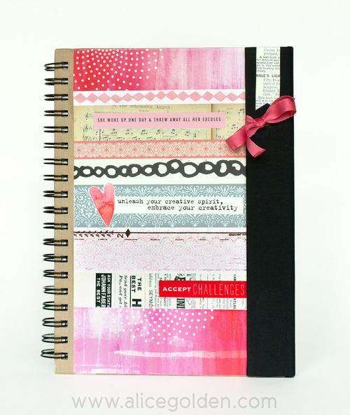 Alice-Golden-Mixed-Media-Art-Journal-Cover