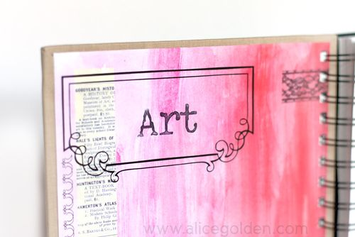Alice-Golden-Mixed-Media-Art-Journal-Inside-Cover